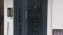Lazer kesim ferforje kapı